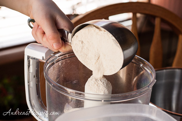 Andrea Meyers - Adding whole wheat flour, Whole Wheat Tortillas.