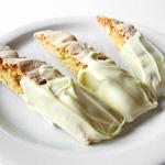 Andrea's Recipes - White Chocolate Macadamia Nut Biscotti