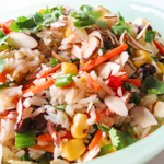 Confetti Rice Salad - Andrea Meyers