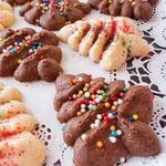 Cream Cheese Spritz Cookies - Andrea Meyers