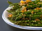 Andrea Meyers - Roasted Asparagus with Orange Ginger Glaze