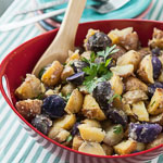 Andrea Meyers - Baked Potato Salad with Vidalia Onion Vinaigrette