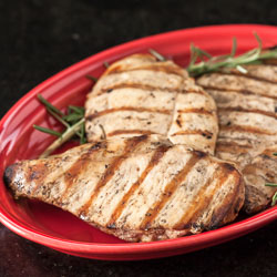 Grilled Chicken Recipe with Lemon and Rosemary - Andrea Meyers