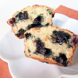 Orange Blueberry Muffins - Andrea Meyers