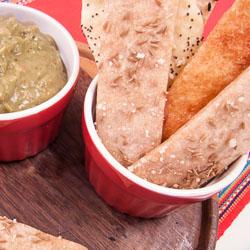 Lavash Bread Recipe - Andrea Meyers