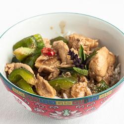 Thai Basil Chicken Recipe (Kai Kraphao) - Andrea Meyers