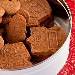 Speculaas (Molded Ginger Cookies) Recipe - Andrea Meyers
