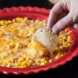 Spicy Creamy Baked Corn Recipe - Andrea Meyers