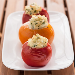 Mashed Potato-Stuffed Tomatoes - Andrea Meyers