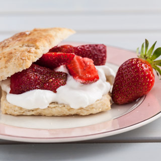Wegmeyer Farms: Spring Strawberries (Brown Sugar Strawberry Shortcakes) - Andrea Meyers