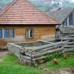 <b>village life near Bran castle</b>