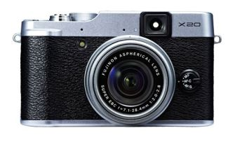 Fuji X20 in silver finish