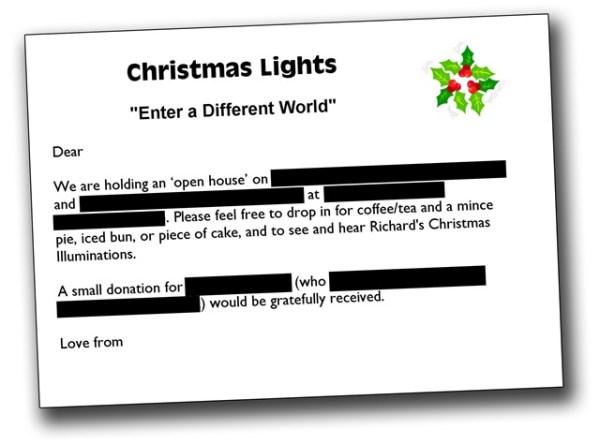 Christmas Lights Progress – 12.12.09
