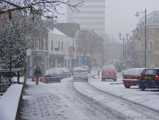 SNOWED IN_Maidenhead Town Centre on Saturday