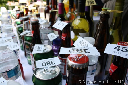 DON'T DRINK IT ALL AT ONCE_The bottle tombola.