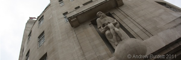 PROSPERO AND ARIEL_The famous Eric Gill statue.