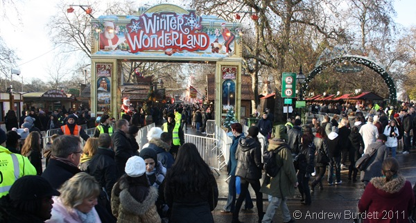 BUSY BUSY_The annual Winter Wonderland always draws crowds due to its free admission.