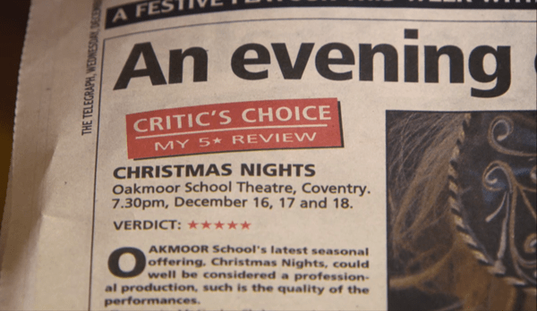 FIVE STARS_The Oakmoor School nativity review was to critical acclaim.
