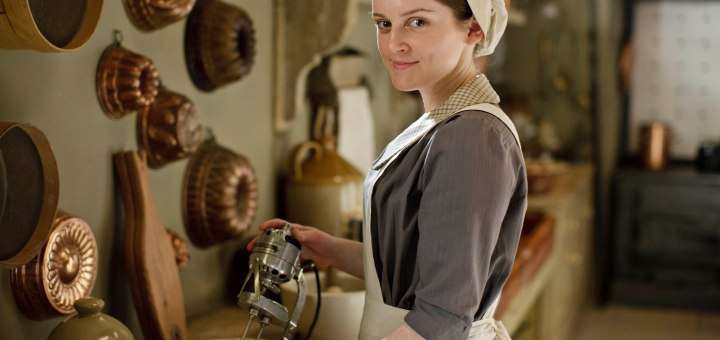 Sophie McShera as Daisy Mason in Series 4 of Downton Abbey.
