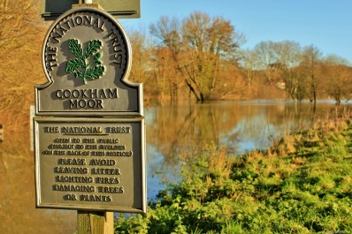 The Moor at Cookham is temporarily out-of-bounds.