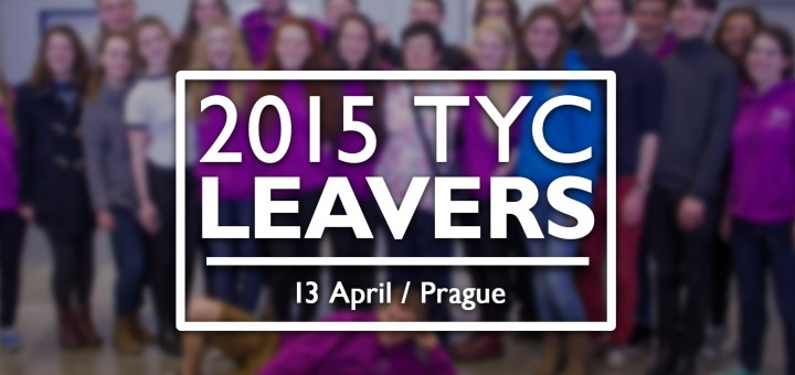 YouTube thumbnail for the 2015 TYC Leavers' Song.