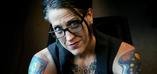 Lutheran pastor Nadia Bolz-Weber, who welcomes all at her Denver church.