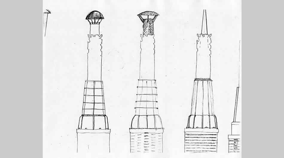 Phantom Furnace Columns, Youngstown, OH