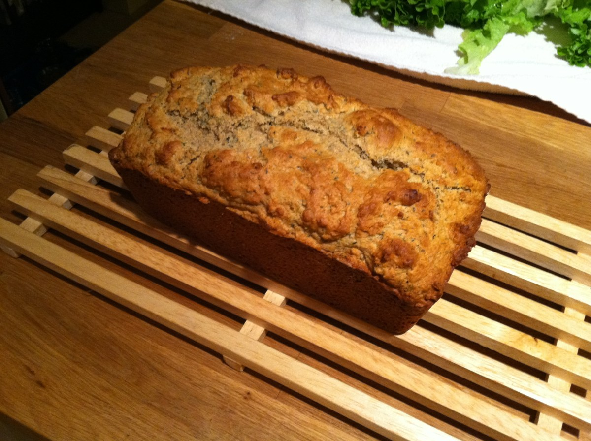Yogurt Herb Bread