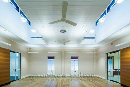 Interior image of School of Arts building, Cairns