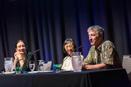 Image of panel discussion during plenary sessions of ANZSGM 2016