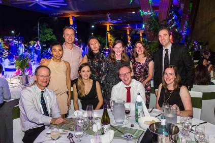 Image of delegates at Gala Dinner at ANZSGM 2016