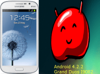 Galaxy Grand Duos I9082 Android 4.2.2 Jelly Bean Update