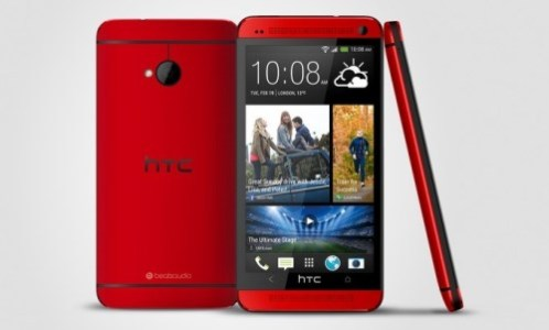 HTC One Glamor Red