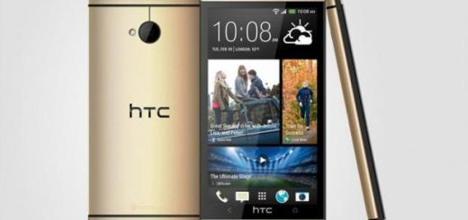 HTC Confirms HTC One in Gold