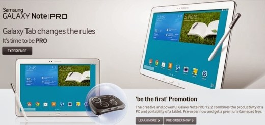 Galaxy NotePRO to be Released on February 4 in the UK