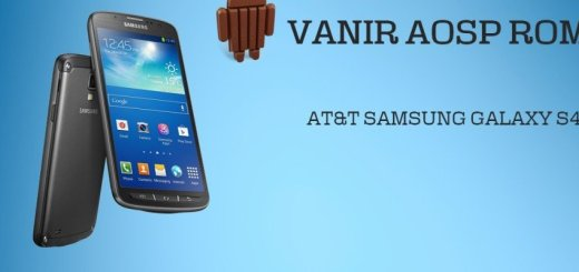 Install Android 4.4 on AT&T Galaxy S4 with VanirAOSP Firmware