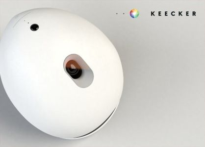Keecker - Your personal Android projector robot