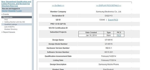 Galaxy S4 Value Edition Approved by Bluetooth SIG