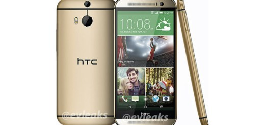 Gold HTC One 2014