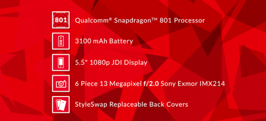 OnePlus One Powered by Snapdragon 801