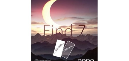 Oppo Find 7 To Be Offered with Two Different Display Resolutions
