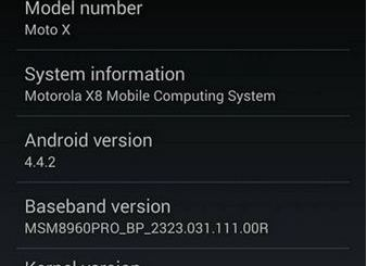 Sprint Moto X Finally Receiving Android 4.4.2 Update