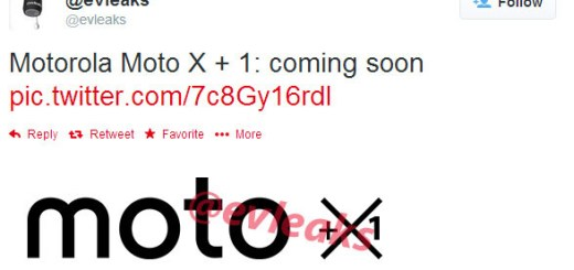 Upcoming Motorola Moto X+1