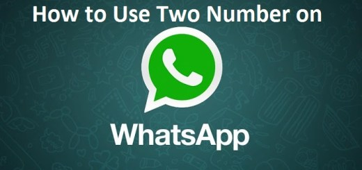 How to use WhatsApp for Two Numbers in Dual-SIM Android devices
