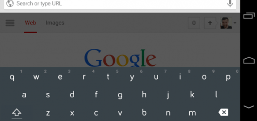 New Material Design keyboard from Android L