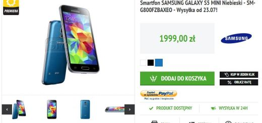 Galaxy S5 Mini Is up for Pre-order in Poland for $625