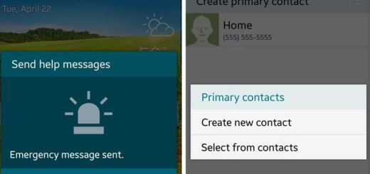 Use Emergency Contact Feature on Samsung Galaxy S5