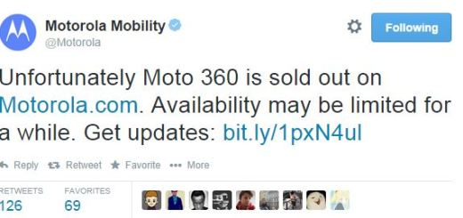 Moto 360 is Sold Out at Motorola.com and Google Plays Store