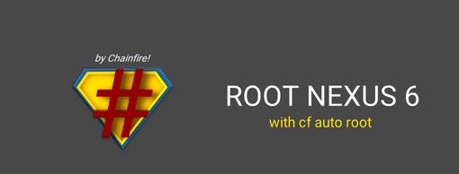 root google nexus 6