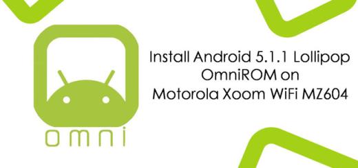 Flash Android 5.1.1 Lollipop OmniROM on your Motorola Xoom WiFi MZ604